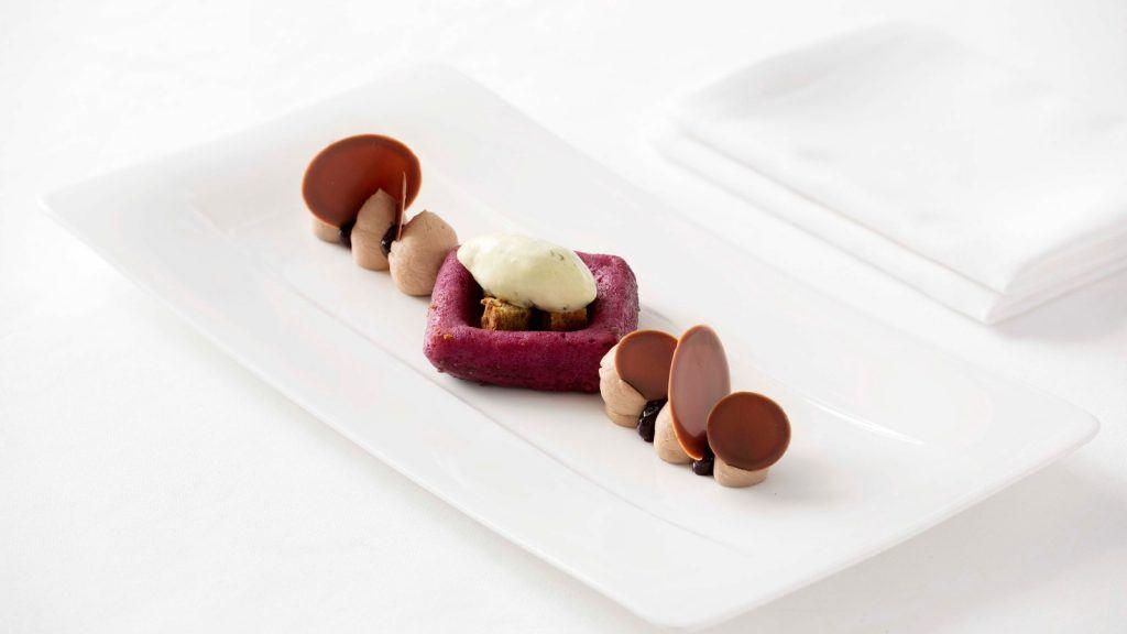 Tudor Hall Restaurant Athens King George Dessert Dish