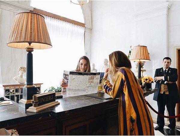 Hotel Grande Bretagne Sofia Sanchez Concierge