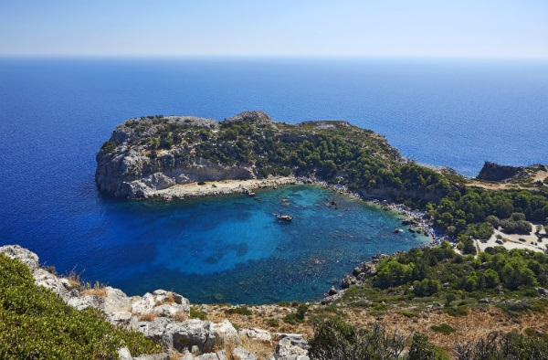 Sheraton Rhodes Resort SPG Moment One day cruise Lindos Anthony Quinn Beach
