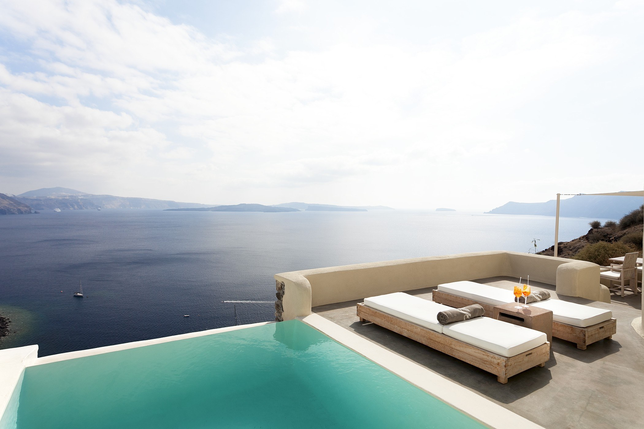 Mystique A Luxury Collection Hotel Santorini Journey