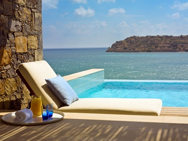 Journey to Greece Blue Palace Crete Conde Nast Traveler Gold List 2013