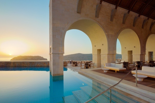 Journey to Greece Blue Palace Elounda Crete Arsenali