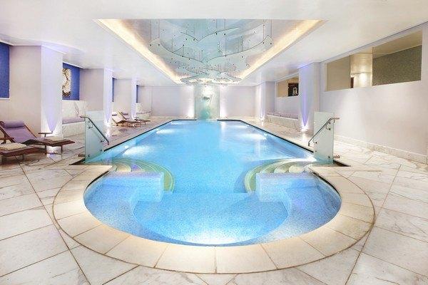 Journey to Greece Hotel Grande Bretagne Athens Spa Indoor Pool