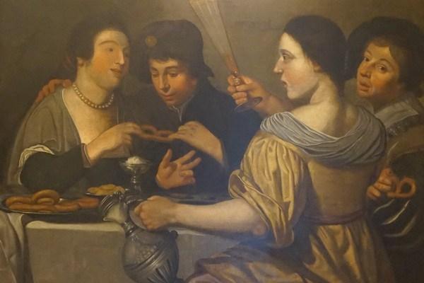 Journey to Greece King George Athens Painting Camvas