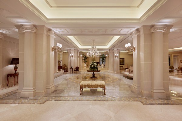 Journey to Greece King George Athens Spacious Marble Lobby
