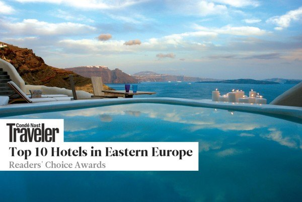 Journey to Greece Mystique Santorini Edge Pool