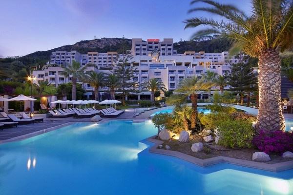 Journey to Greece Sheraton Rhodes Resort Exterior