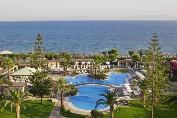 Journey to Greece Sheraton Rhodes Resort Main Pool