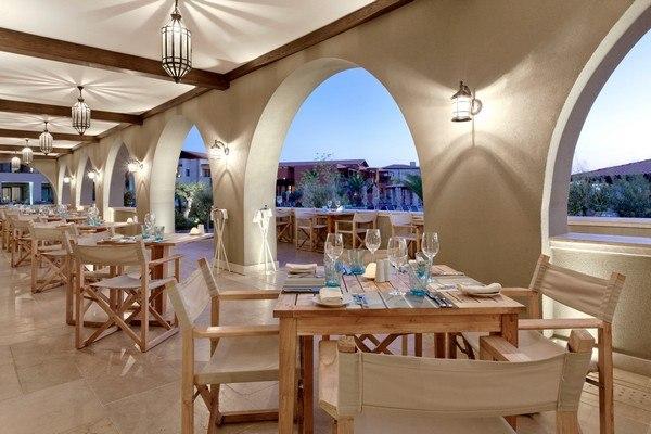 Journey to Greece The Romanos Costa Navarino Dining