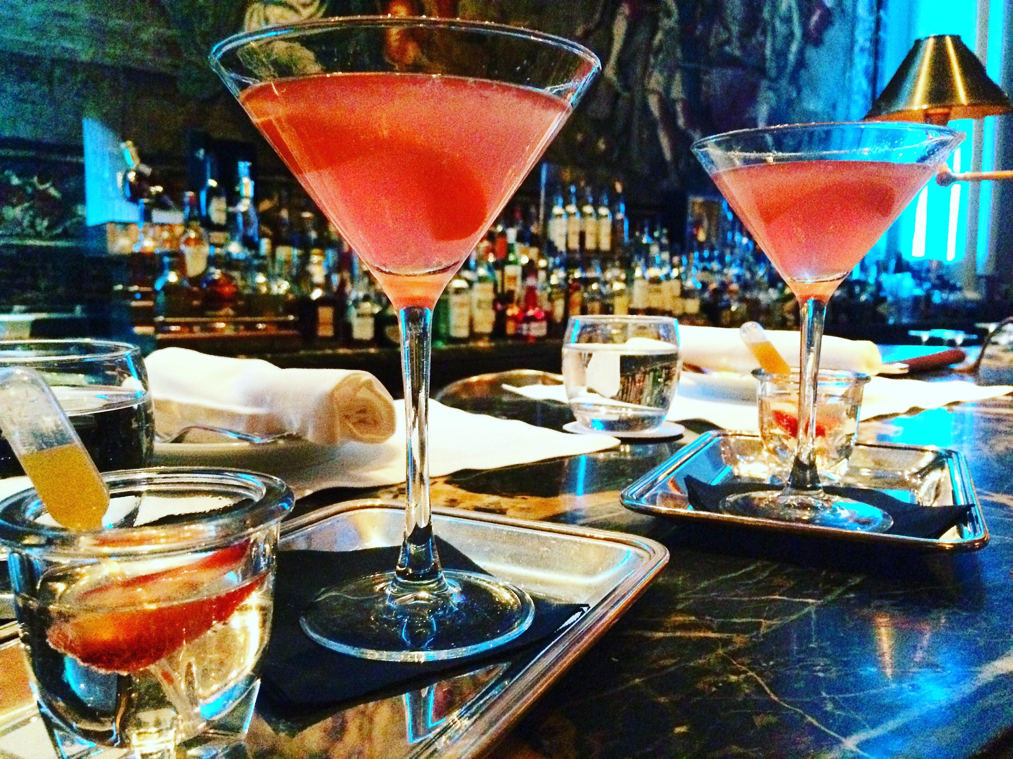 Alexanders Oyster bar cocktails Thursday 18 Feb Hotel Grande Bretagne 2016 (3)