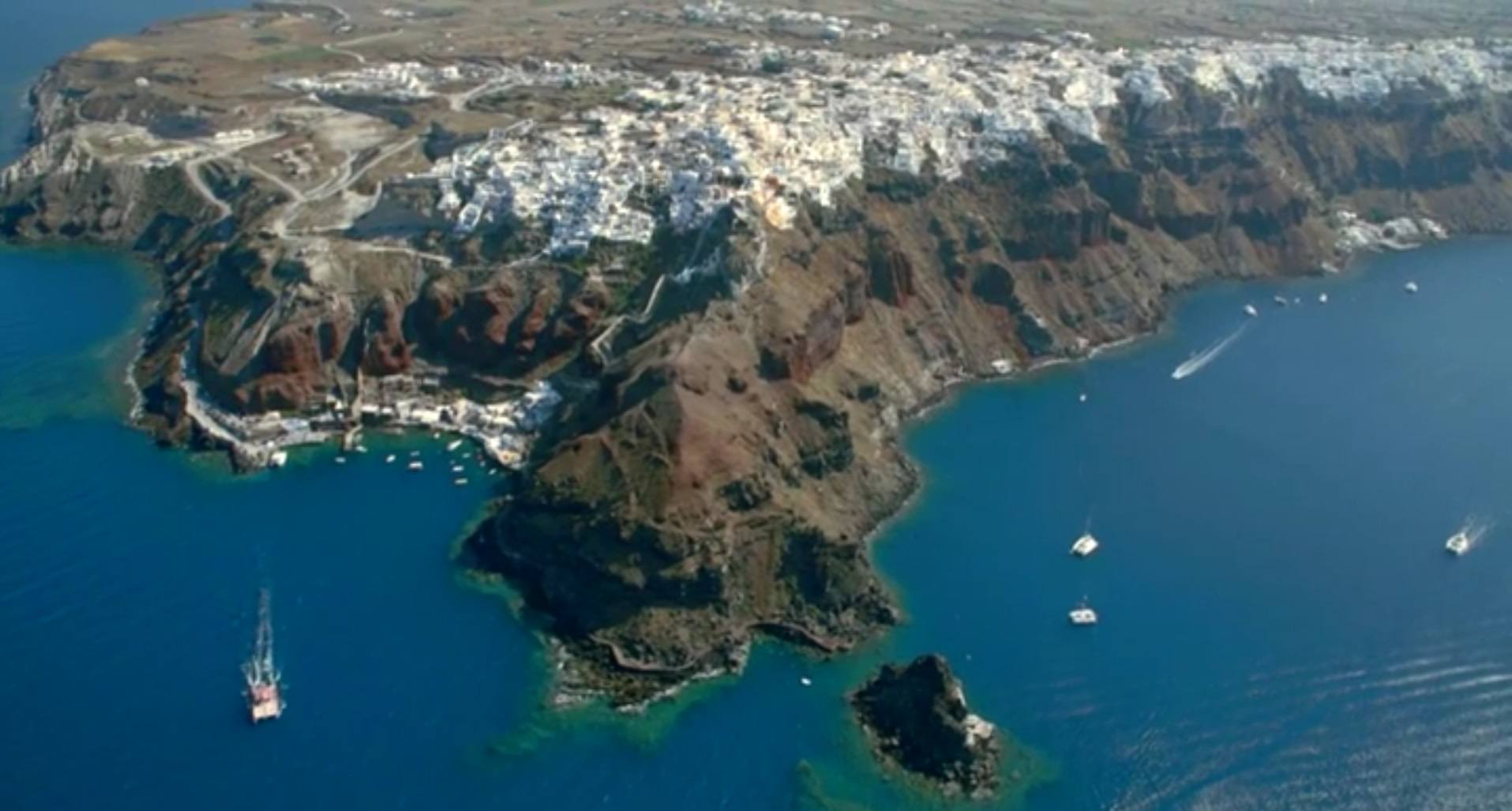 Santorini sky view_SPG TV video_Journey Greece