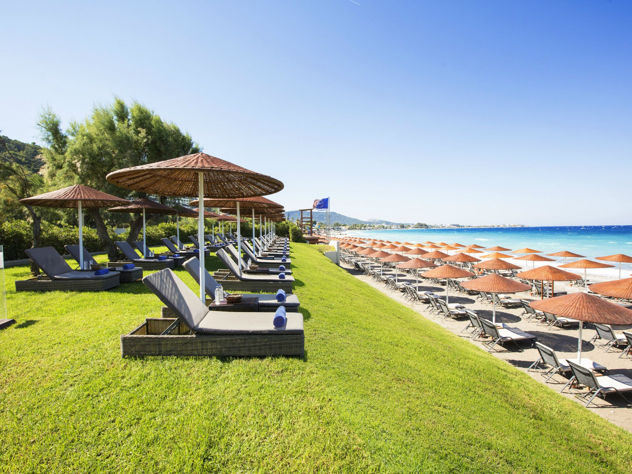 Beach at Sheraton Rhodes Resort