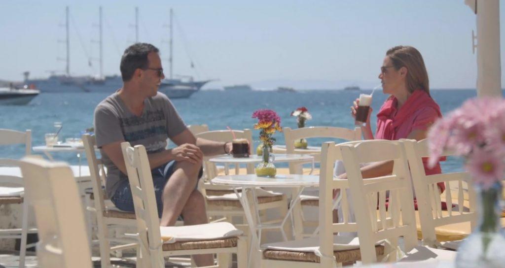 Coffee in Mykonos Town_Santa Marina Resort_Journey Greece