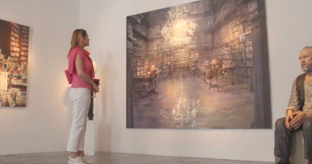 Mykonos Art Gallery_Journey Greece_Santa Marina Hotel