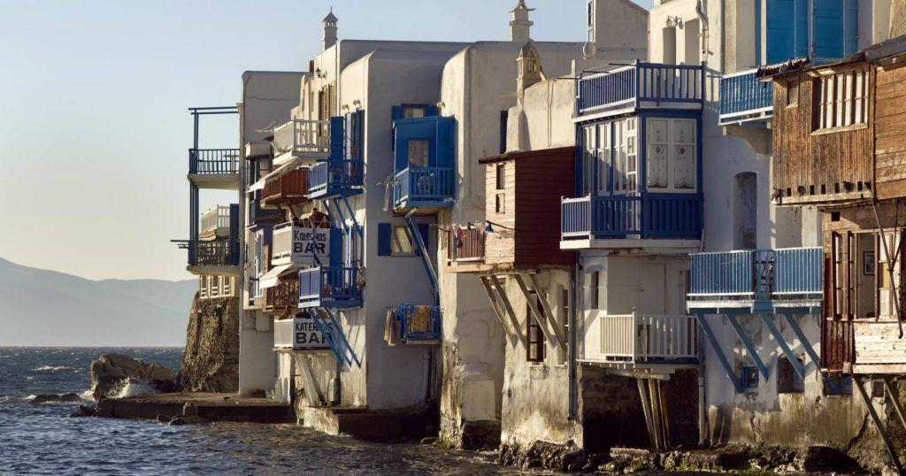 Mykonos Town Little in Venice_Journey Greece_The luxury Collection_Santa Marina Hotel