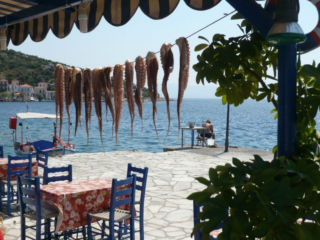 Journey Greece Food Traditions Octopus