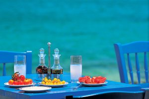 Relax over Greek ouzo and meze