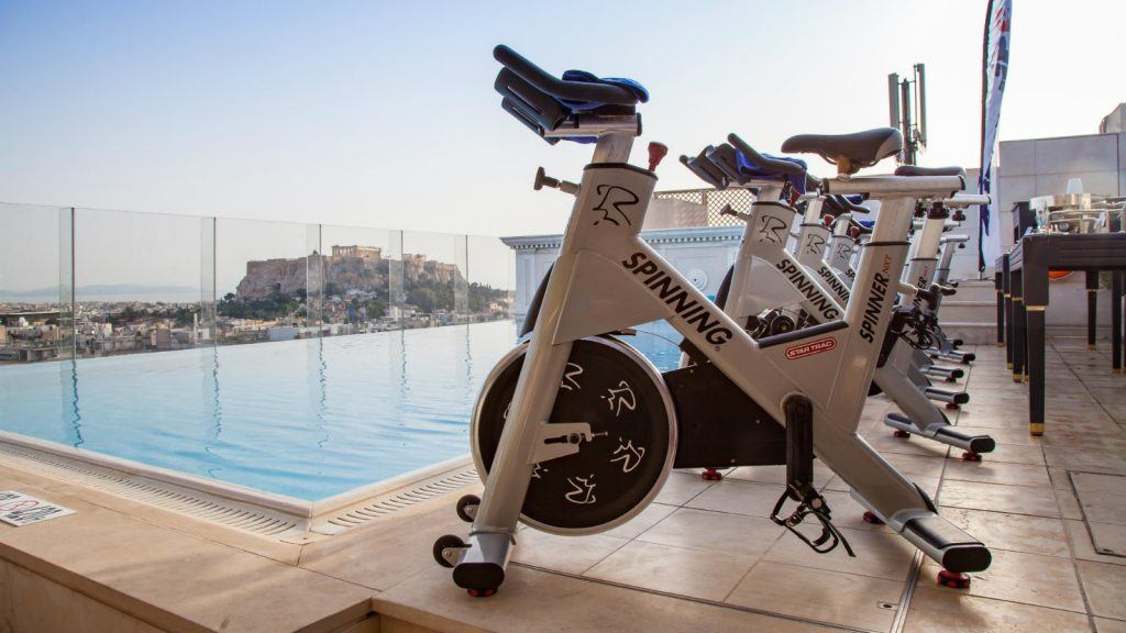 Hotel King George Luxury Collection Athens SPG Moment Spinning Views Acropolis