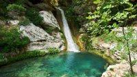 Journey Greece Costa Navarino Polylimnio Waterfalls