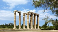 Journey Greece Hotel Grande Bretagne athens temple of olympian zeus