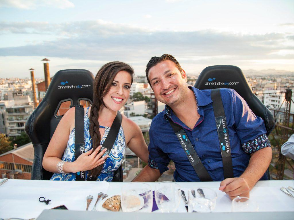 Journey Greece SPG Moment Dinner in the Sky of Athens View