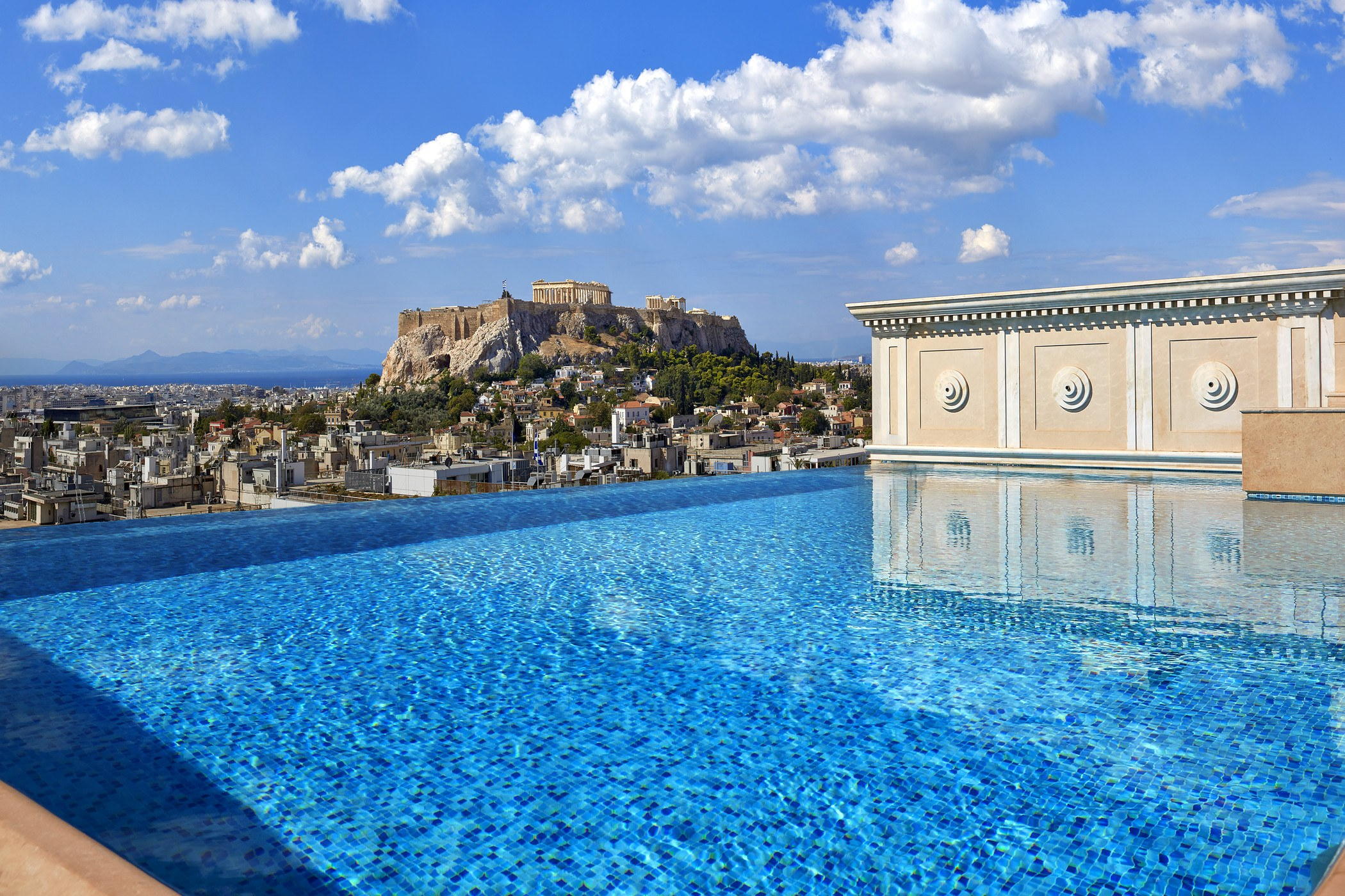 Journey Greece Athens Penthouse Suite