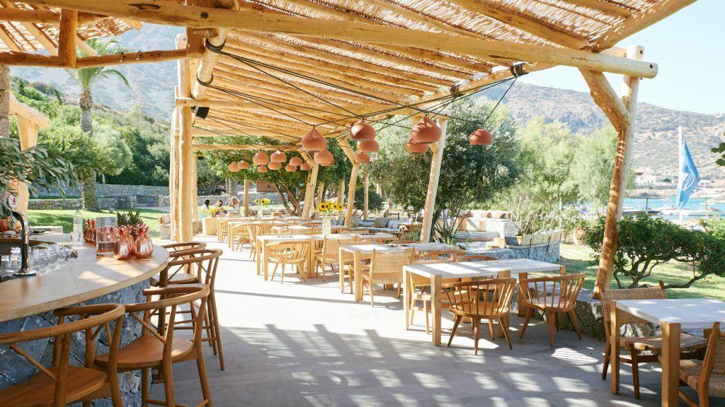 Journey Greece Blue Palace Luxury Collection Resort Crete Isola Beach Club in Elounda