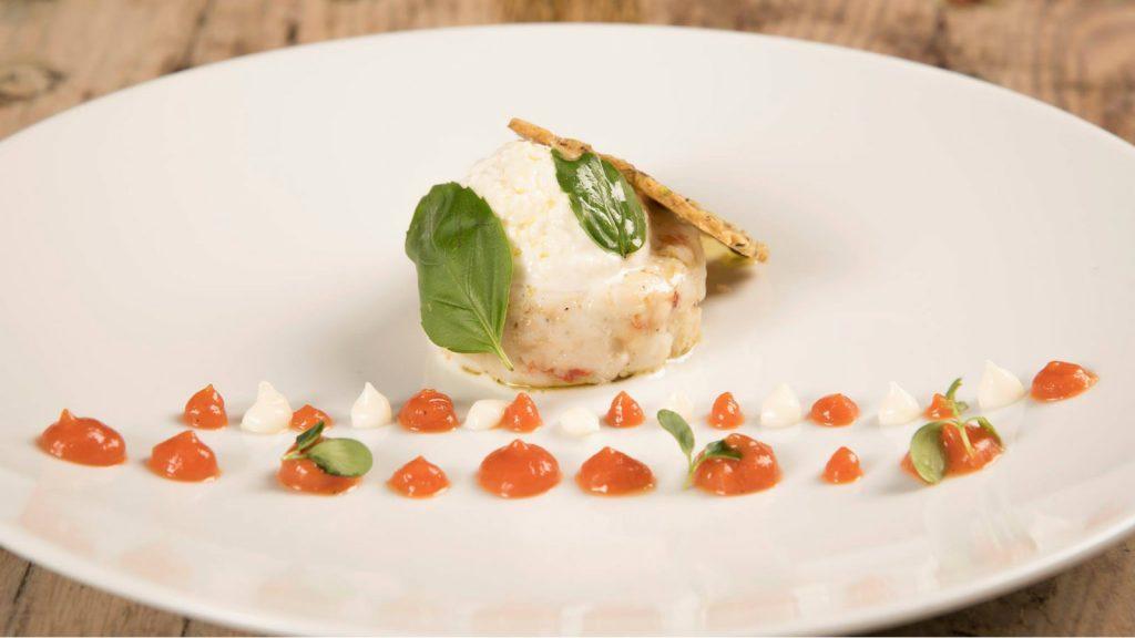 Journey to Greece Perovino Restaurant Costa Navarino Dish
