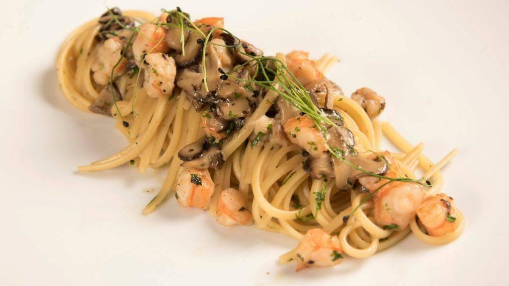 Journey to Greece Perovino Restaurant Costa Navarino Pasta Dish