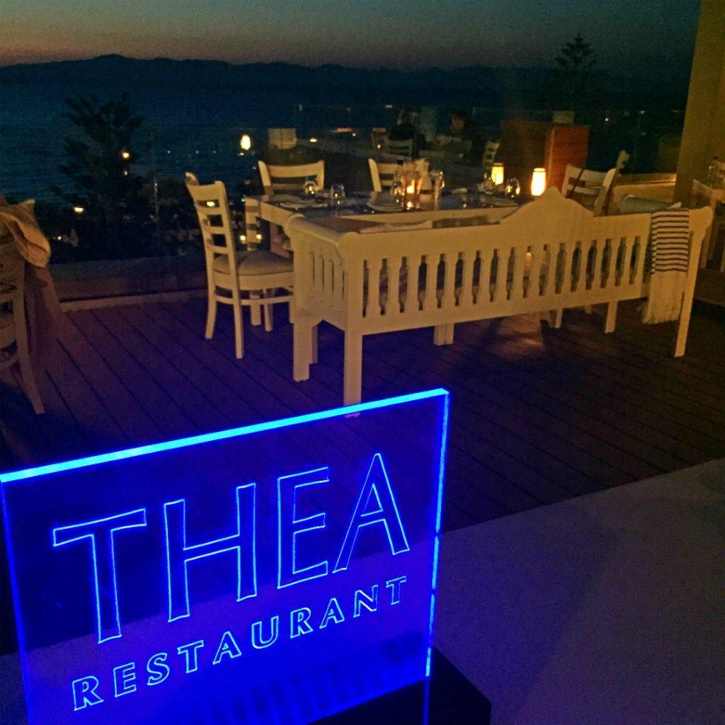 Thea Restaurant Veranda at Sheraton Rhodes Resort