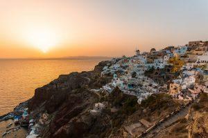 Romance Revealed in Santorini