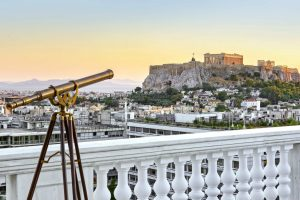 The Residence of discrete luxury in Athens
