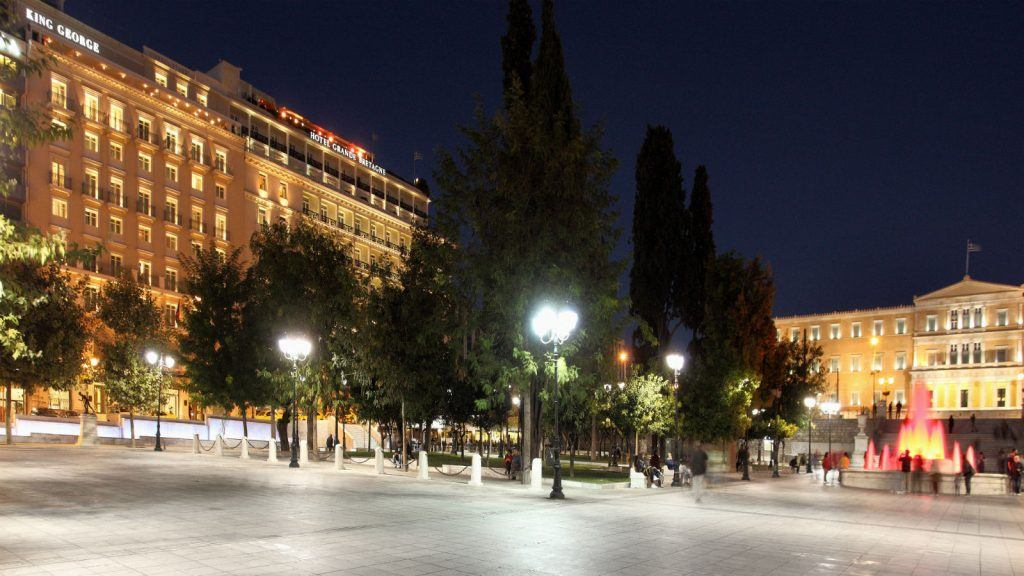 syntagma-square-by-night-with-view-to-the-hotel-king-george-and-hotel-grande-bretagne-athens-athens-from-above