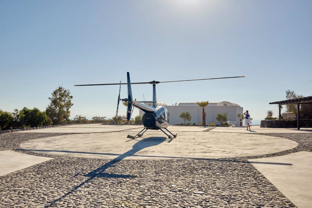journey-to-greece-nafsika-estate-santorini-luxury-villa-helicopter-pad