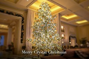 Merry Crystal Christmas at Hotel Grande Bretagne, Athens