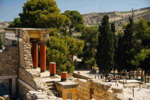 Palace of Knossos - beautiful destinations - greece
